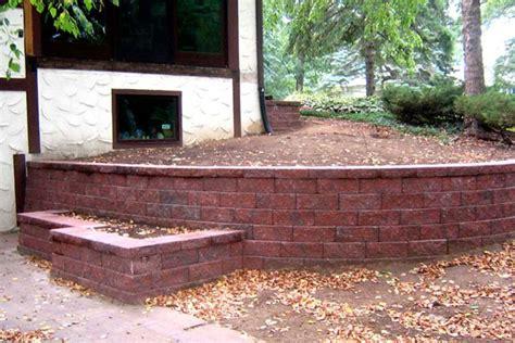 landscape brick wall ideas