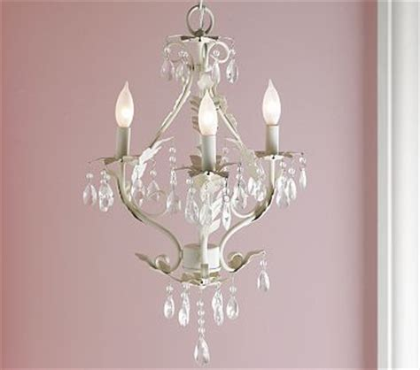 chandeliers for little girl rooms light my world the white girls and pottery