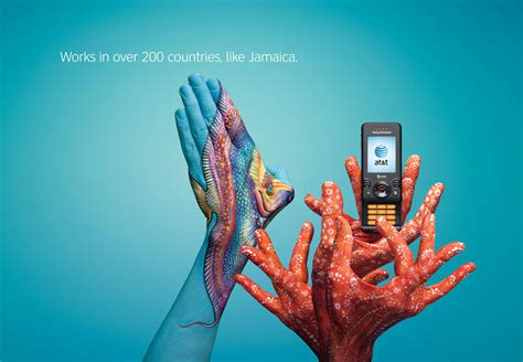 advertising layout artist at t print advert by bbdo jamaica ads of the world