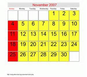 thanksgiving 2007 calendar november 2007 roman catholic saints calendar