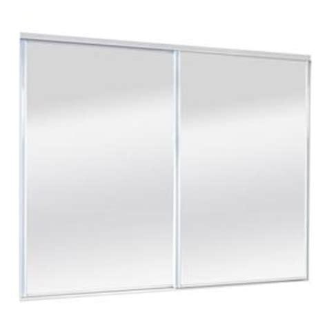 96 Inch Sliding Closet Doors by Shop Reliabilt Mirror Panel Mirror Sliding Closet Interior