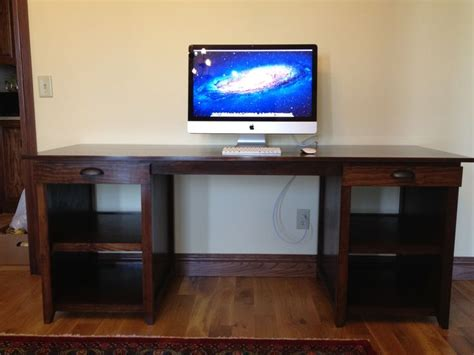 build   computer desk plans woodworking projects