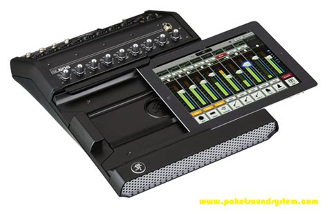 Mixer Audio Terbaru audio mixer digital mackie dl806 paket sound system