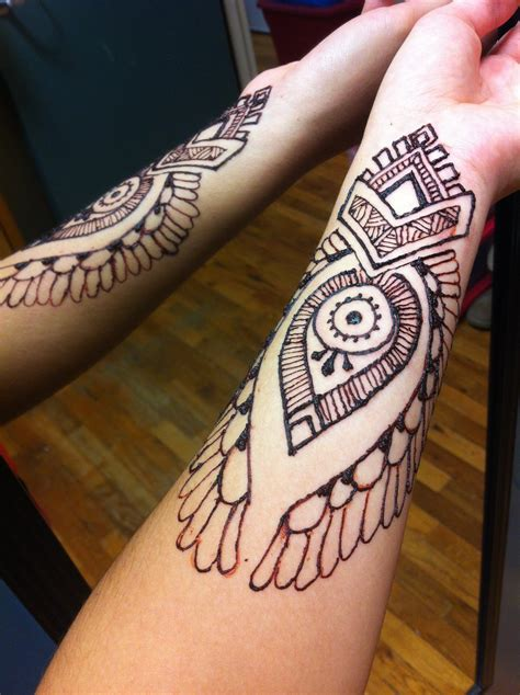 henna arm 3 by gennavieve on deviantart