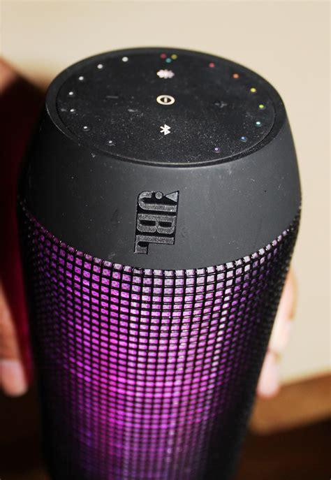 jbl light up speaker jbl pulse portable bluetooth speaker review hearthetruth