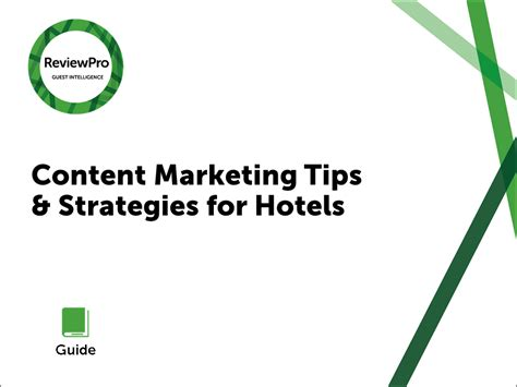 10 effective tips for stand tips for effective content marketing at your hotel