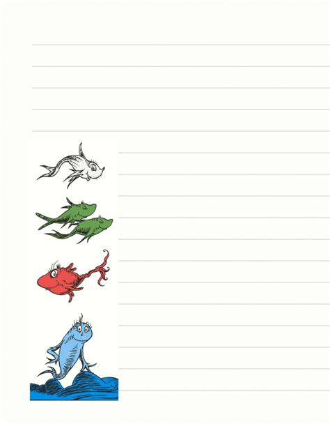 dr seuss writing paper dr seuss border clipartion