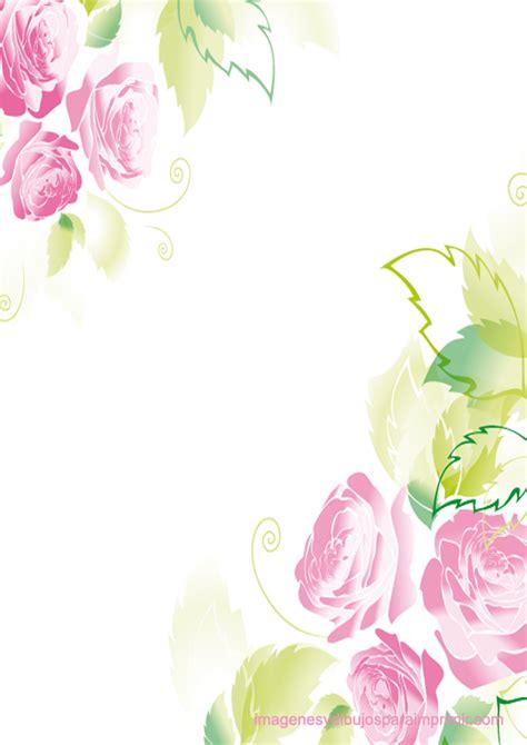 flores de hojas para imprimir rosas rosas para imprimir