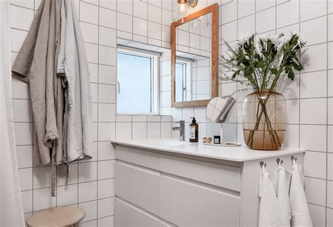 White And Grey Bathroom 64 Stunningly Scandinavian Interior Designs Freshome Com