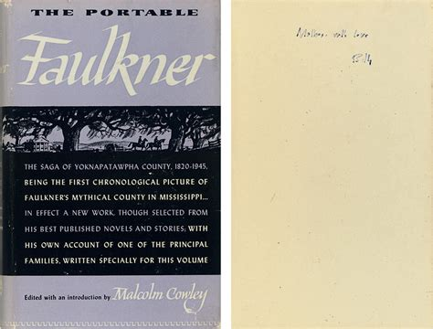The Portable Faulkner faulkner william the portable faulkner edited with an