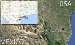 macali texas map horrors of temporary prisons holding illegal immigrants on us mexico border daily mail