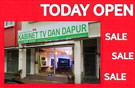 Kabinet Tv Megatech Kabinet Tv Dan Dapur Megatech