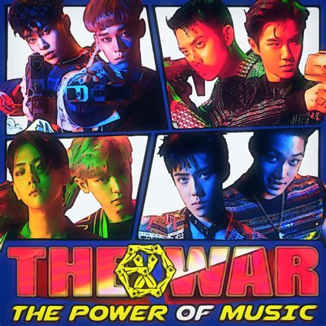 exo album power exo power the war the power of music album cover by