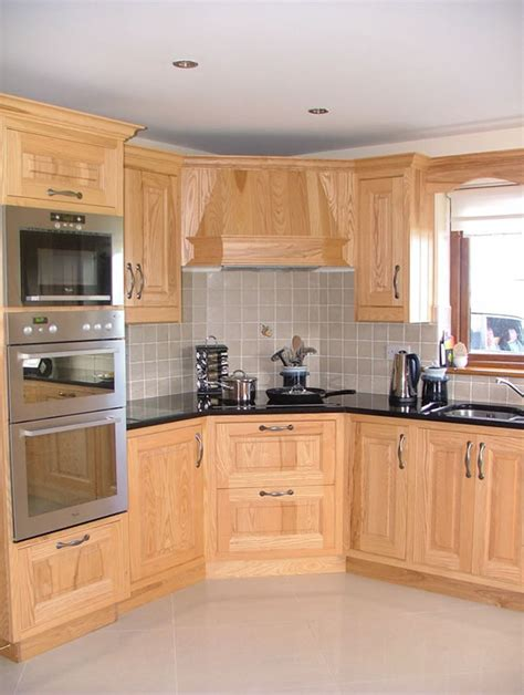 stainless sink ash wood kitchen cabinets beech wood