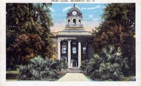 Post Office Brunswick Ga by Postcards From Glynn County