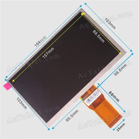 android tablet screen repair universal 7300101466 lcd screen for 7 inch android tablet pc replacement