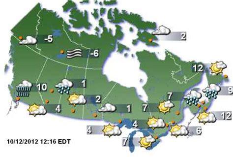 us weather network map kanada wetterkarte