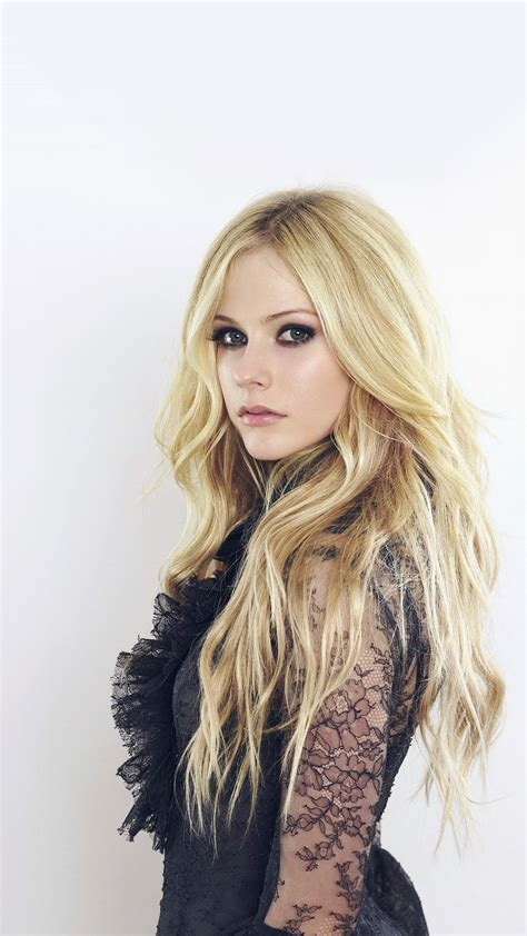 avril lavigne canadian singer cute  android wallpaper