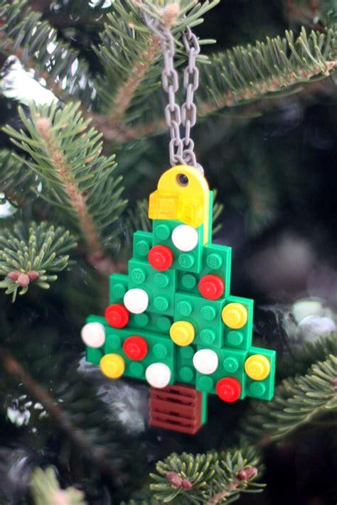 lego christmas ornaments  kids    bins   hands