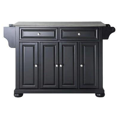 black stanless steel kitchen island decosee com alexandria stainless steel top kitchen island wood black
