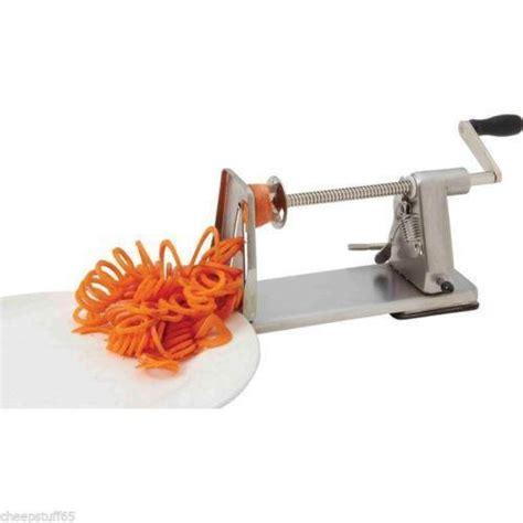 Vegetable Spiral Slicer Garnish Dekorasi Makanan Chef Tools Alat Dapur curly fry cutter ebay