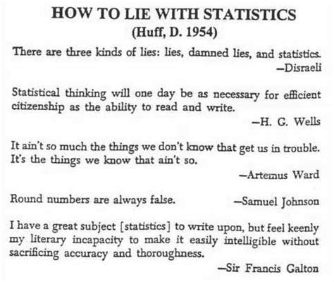lies statistics how to lie with statistics bite size stats series books marijn krijger laat me je rondleiden in de wereld