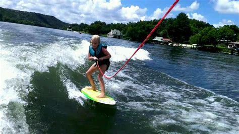can you wakesurf behind any boat an introduction to wakesurfing lake travis lifestyle