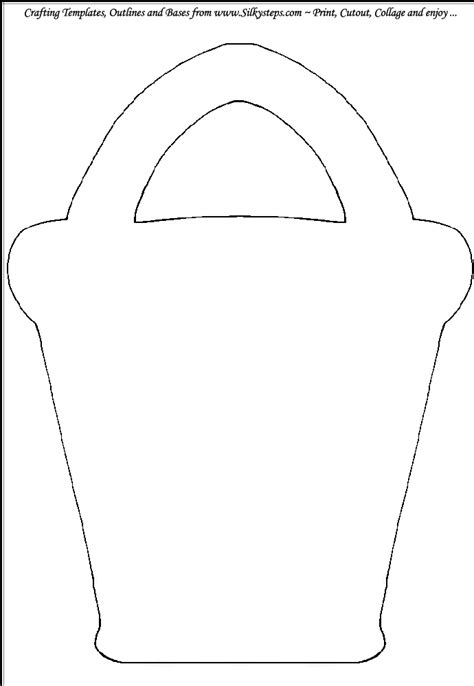 bucket beach sand outline template gif 690 215 1 000 pixels