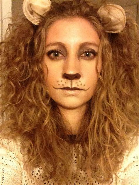 Wizard Of Oz Home Decor by Lion Makeup On Pinterest Cat Halloween Makeup Wolf