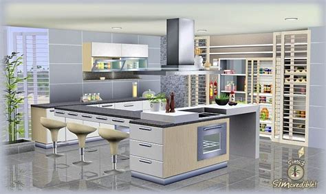sims kitchen ideas objnoora simc don formfunction kitchen sims 3