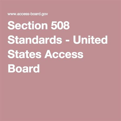 1000 Ideas About Section 508 On Pinterest Web
