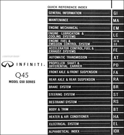 free auto repair manuals 1995 infiniti q parental controls 1995 infiniti q45 repair shop manual original