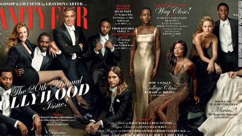 Vanity Fair March 2006 Cover vanity fair praised for diverse issue cover cnn