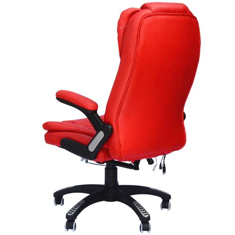 Vibrating Chair by Executive Ergonomic Heated Vibrating Computer Desk Office