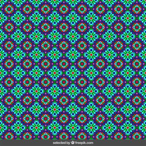colors islamic mosaic vector premium download colored floral islamic mosaic vector free download