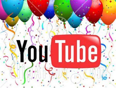 Imagenes De Cumpleaños Youtube | feliz cumplea 241 os youtube desenr 233 date