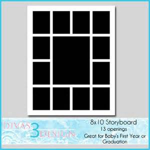 8x10 Photo Collage Template by Unavailable Listing On Etsy