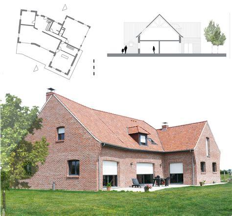 le patio bailleul architecte nord blandine vanwaelscappel