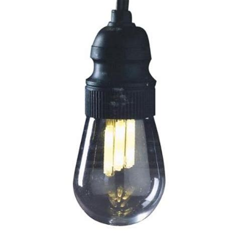 gki bethlehem light string 10 light black wire edison