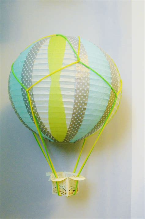 How To Make Paper Air Balloons - diy miniature air balloons loving here