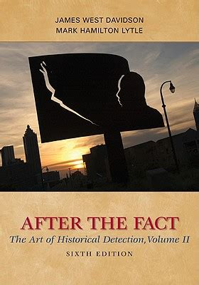 enter the aftermath volume 2 books 9780077292690 after the fact volume ii the of