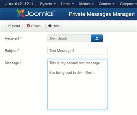 video tutorial joomla 3 0 309 joomla 3 1 messaging tutorial inmotion hosting