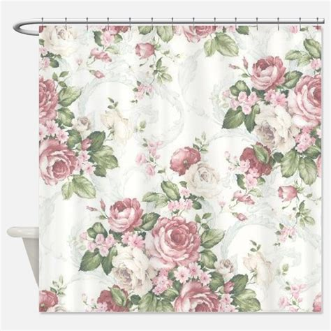 rose shower curtains victorian rose shower curtains victorian rose fabric
