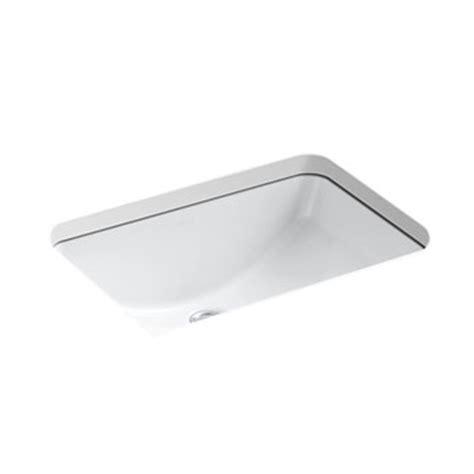 Kohler Lavatory Sink by Kohler K 2214 0 Ladena Undermount Lavatory Sink White