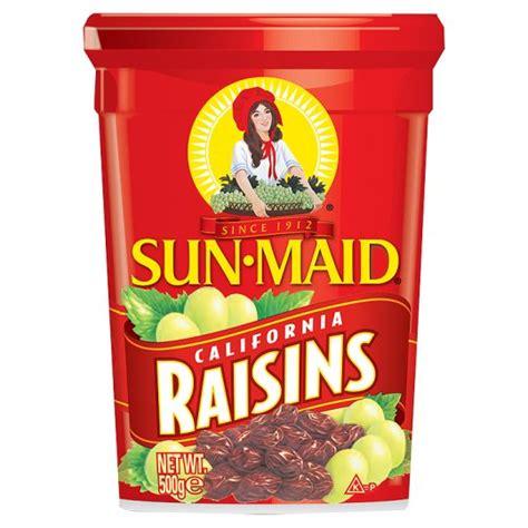 Seedless Raisin 500g sun californian raisins 500g groceries tesco