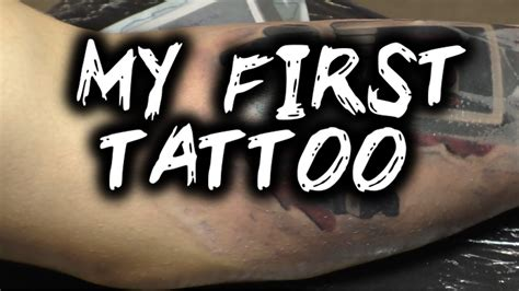 getting my first tattoo luigikid s getting inked my vlog