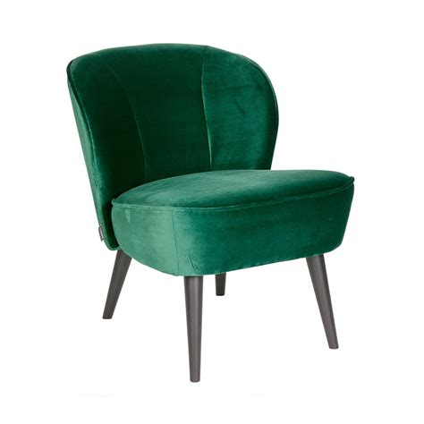 fauteuil velours vert bouteille fauteuil cocktail sara drawer