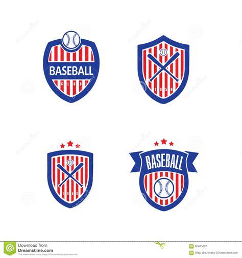 baseball vector logo template stock illustration image