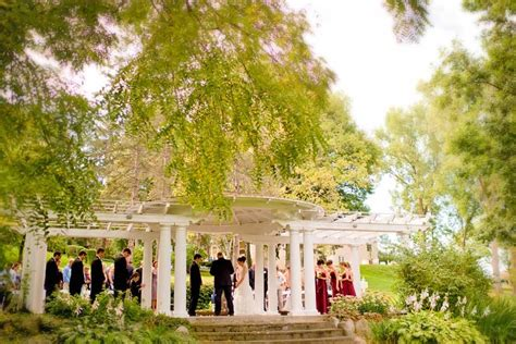 michigan garden wedding venue outdoor wedding ceremony locations the inn
