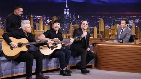 jimmy fallon house band u2 to play the tonight show for a whole week